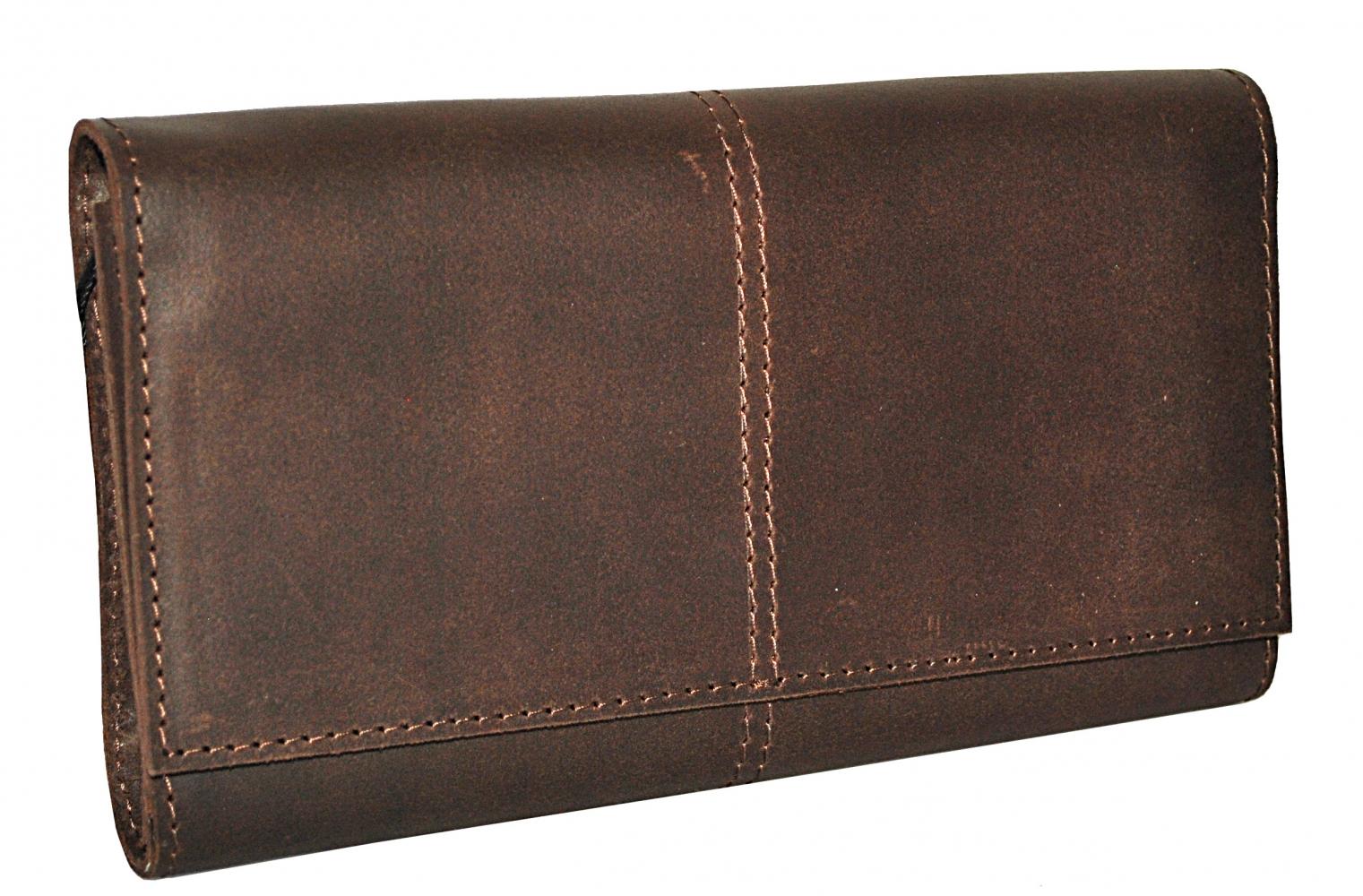 Мужской кошелек 4356 коричневый