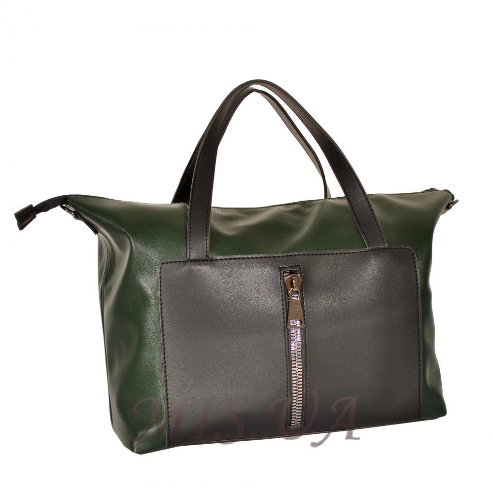 214f5c87b33d Купить зеленую женскую сумку 35637 c доставкой по Украине - Интернет ...