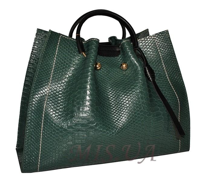 78fb360a4a93 Купить зеленую женскую сумку 35595-3 c доставкой по Украине ...
