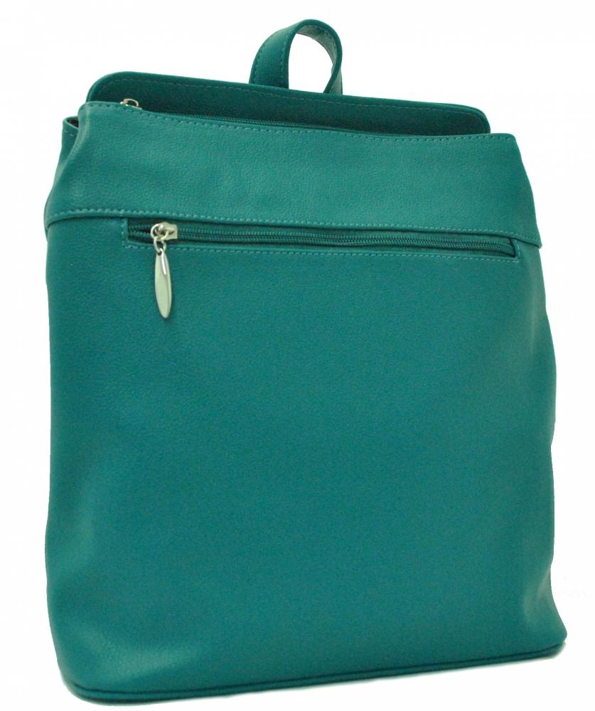 Женский рюкзак 35332 бирюзовий