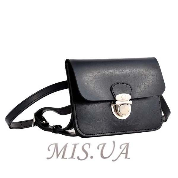Женская сумка - конверт МІС 35723 черная