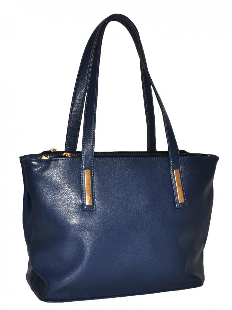 Женская сумка 35456 темно-синяя