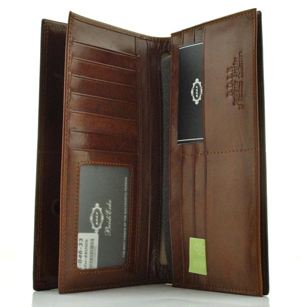 Мужской кошелек 17431 коричневый