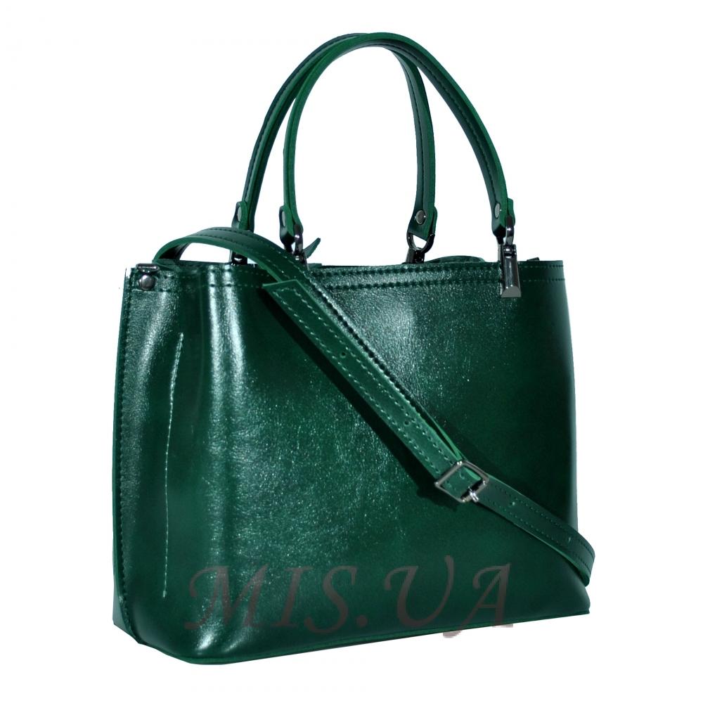 dffcaf935d4a Купить компактную женскую сумку 35655 зеленую c доставкой по Украине ...