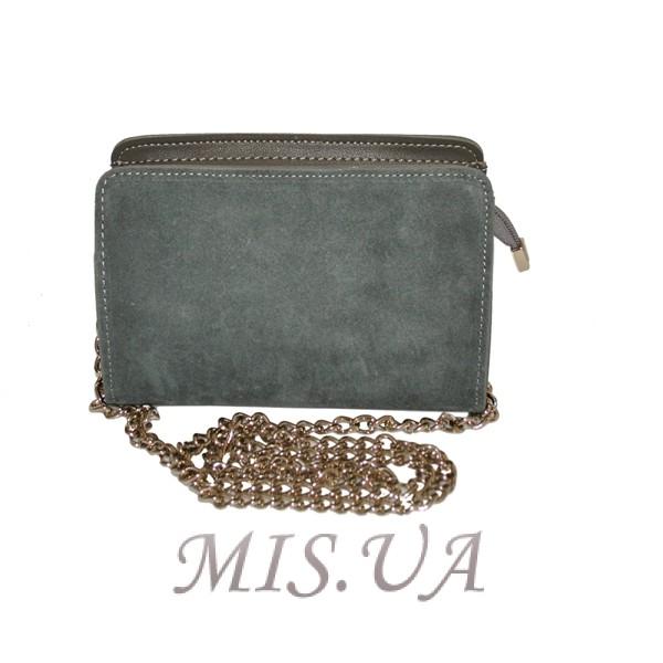 5207b176ba0a Купить серую замшевую женскую сумку 0663 c доставкой по Украине ...