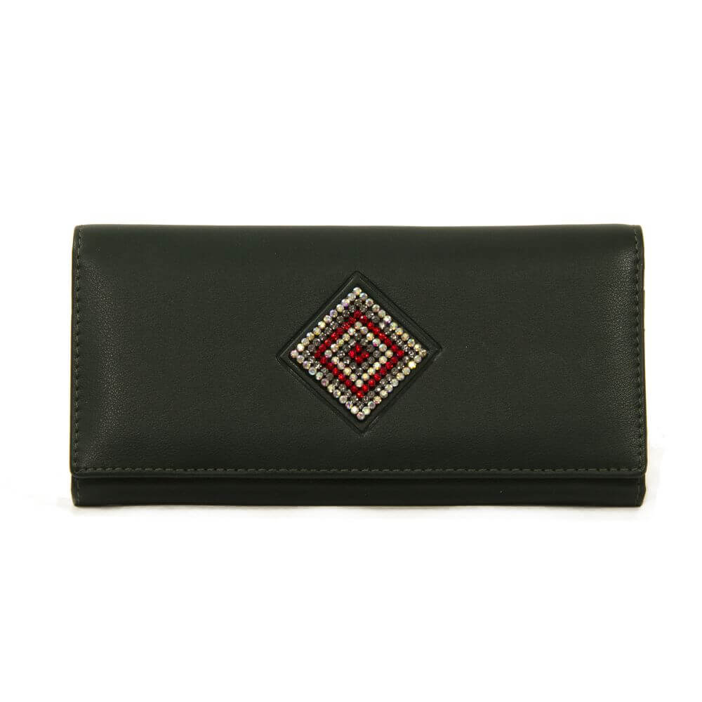 Женский кошелек 174014 зеленый
