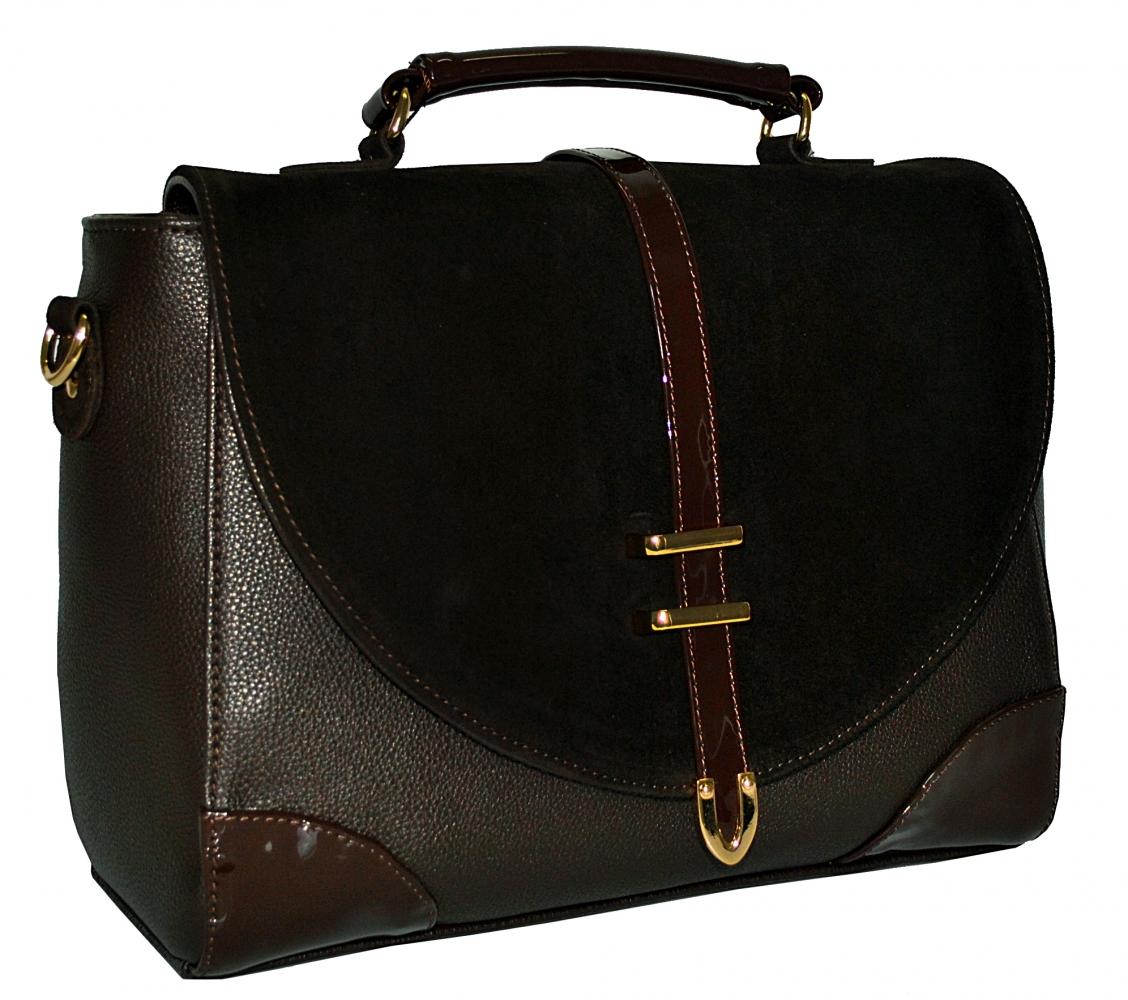 Женская сумка 0587 коричневая