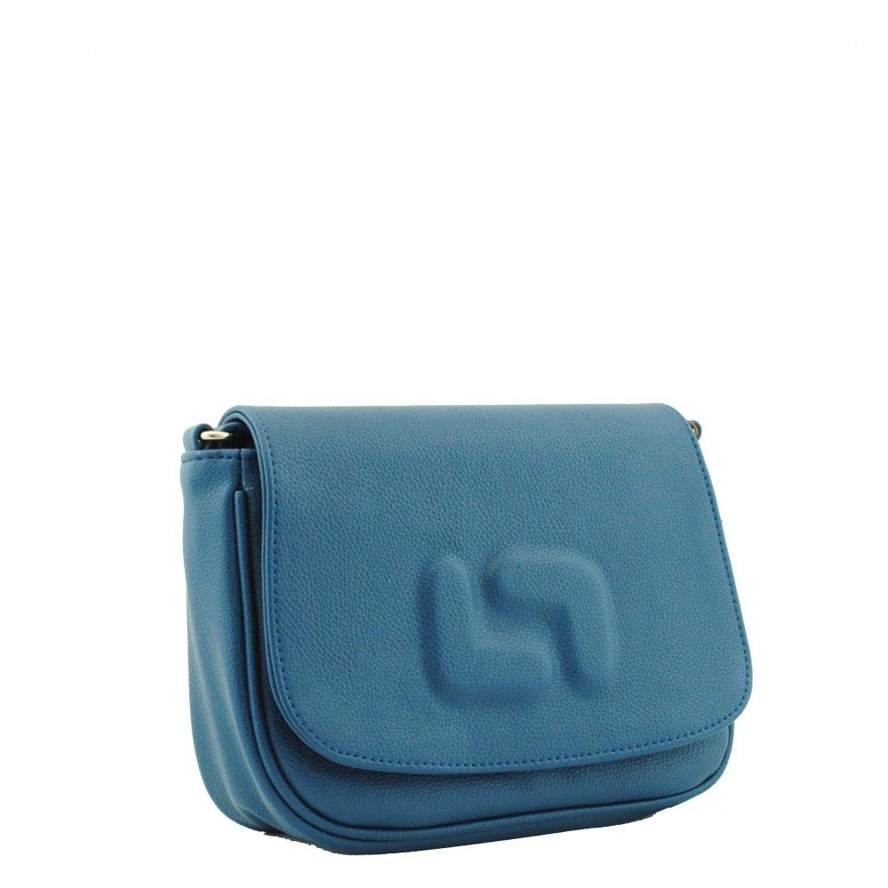 Женская сумка через плечо 35133 синяя