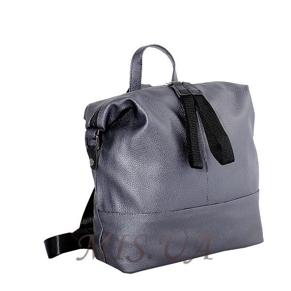 Городской  рюкзак MIC 35762 серый металик