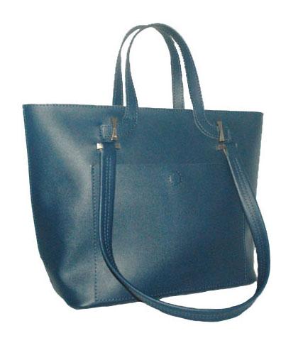 Women's bag 35450 blue