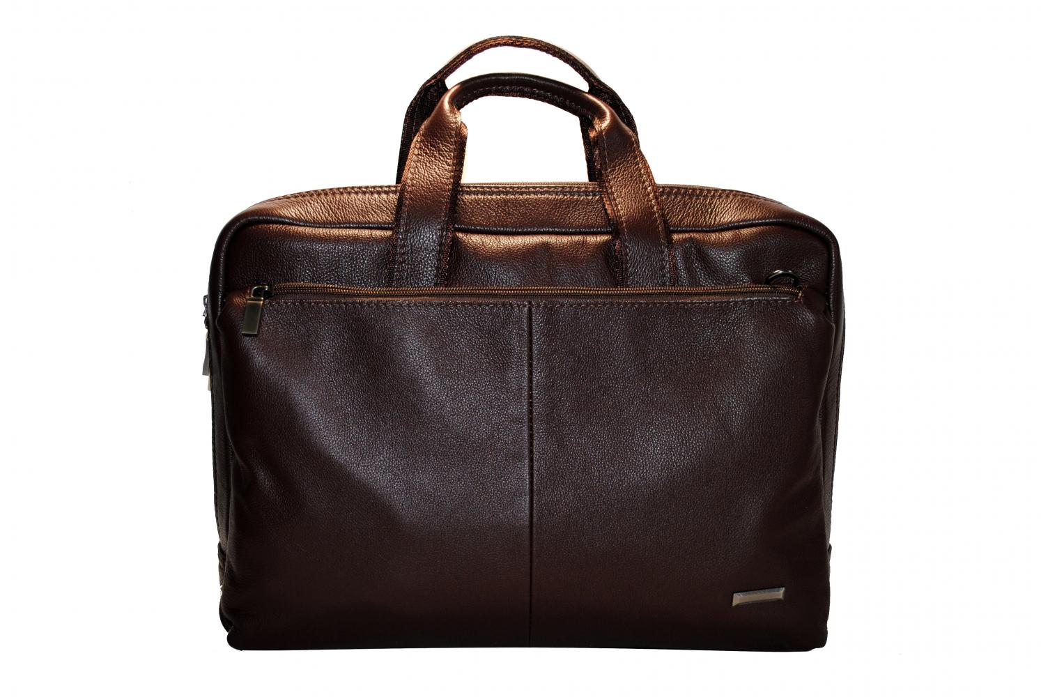Мужской портфель 4222 коричневый