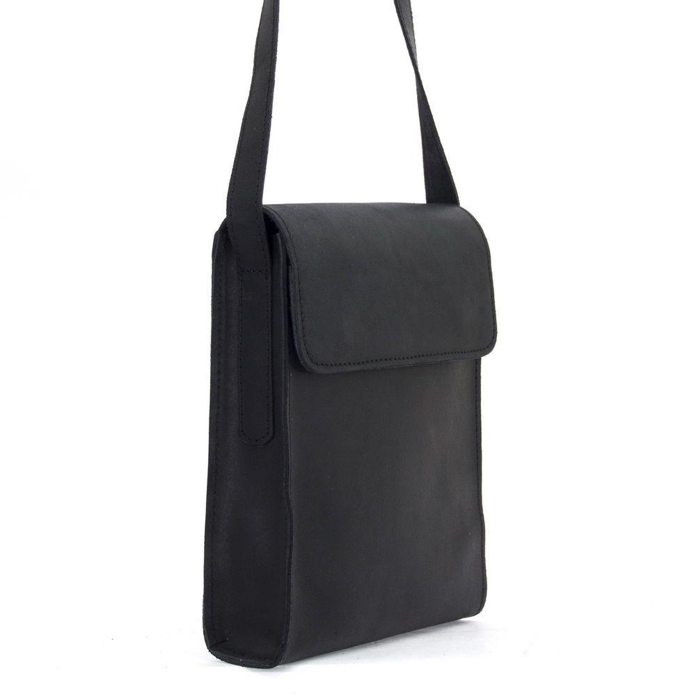 Мужская кожаная сумка 4248 черная