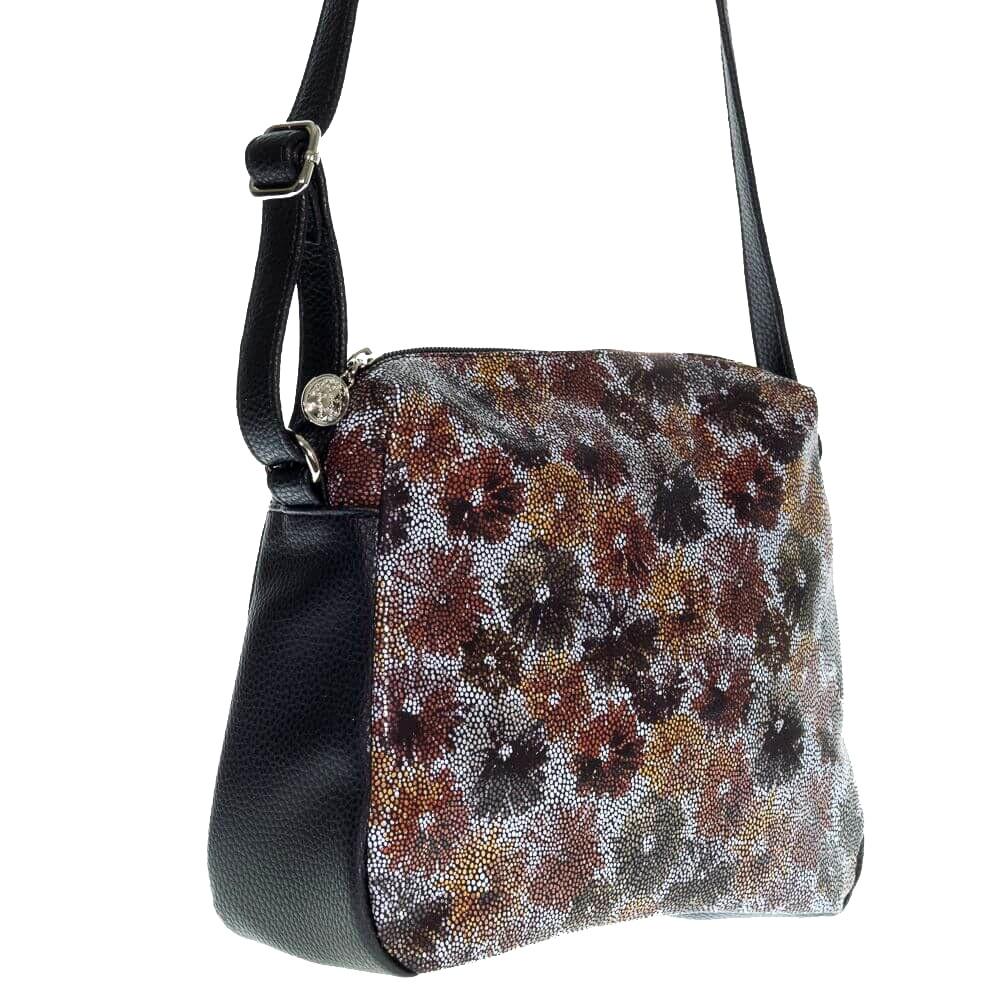 4d9650aaac29 Купить черную женскую сумку через плечо 32958 c доставкой по Украине ...