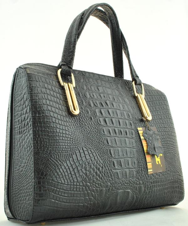 Женская деловая сумка 2410 черная