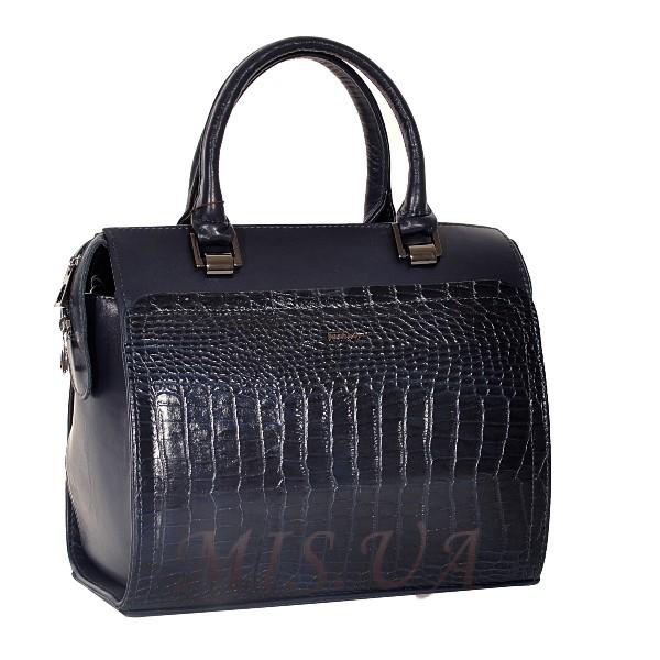 0182dbff9e71 Купить кожаную женскую сумку 2544 синюю c доставкой по Украине ...