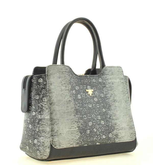 Жіноча сумка 2478 чорно-сіра - Жіночі сумки - Інтернет-магазин сумок ... 61e31a3b47644