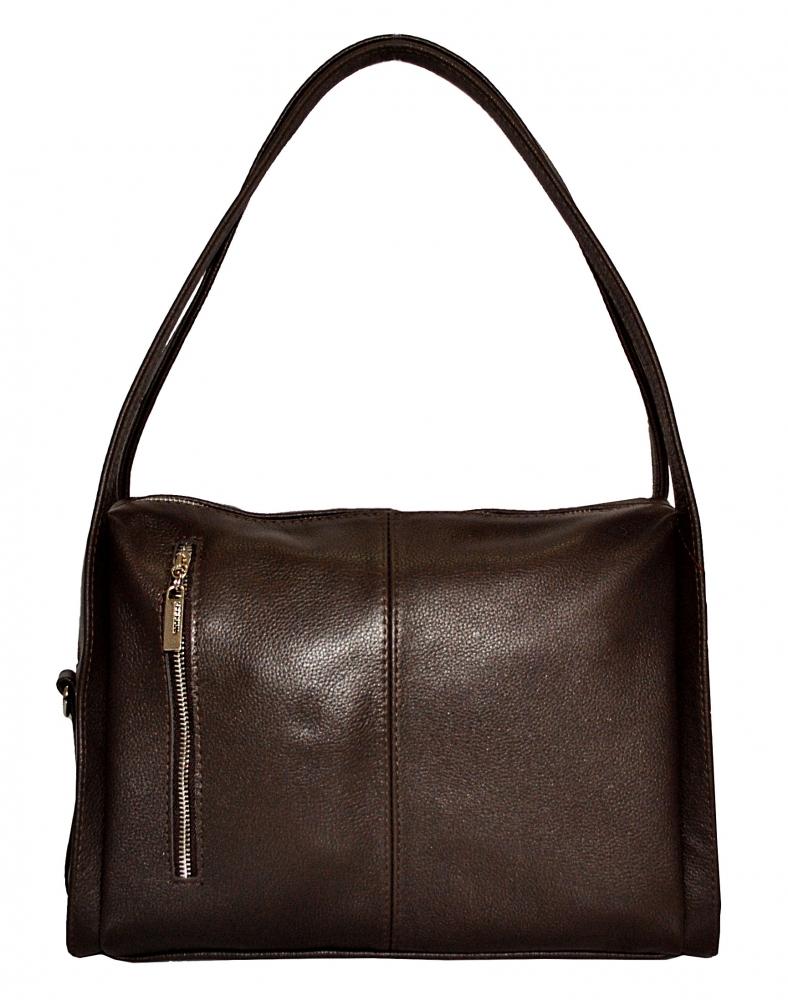 Жіноча сумка 2535 коричнева
