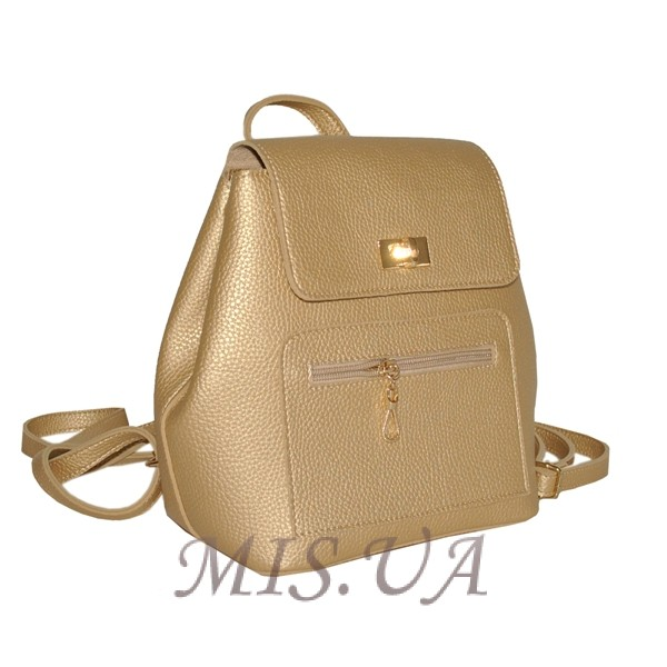 Женский рюкзак 35431 золотистый