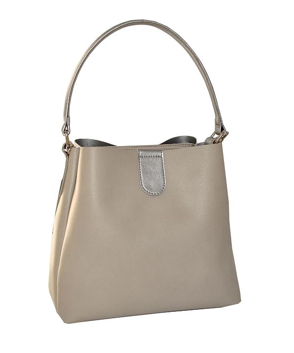88dfd8faf403 Купить женскую сумку серым цветом 35513 c доставкой по Украине ...