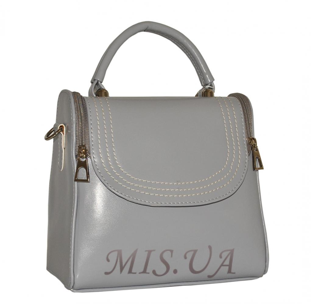 82a81b6970f3 Купить серую женскую сумку 35555 c доставкой по Украине - Интернет ...