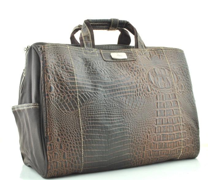 Дорожная сумка 381434 коричневая