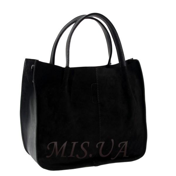 Женская сумка МІС 0721 черная