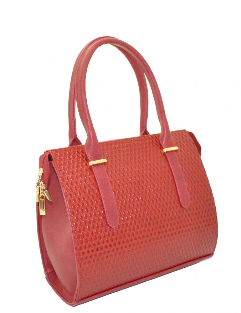 Женская сумка 35258 красная