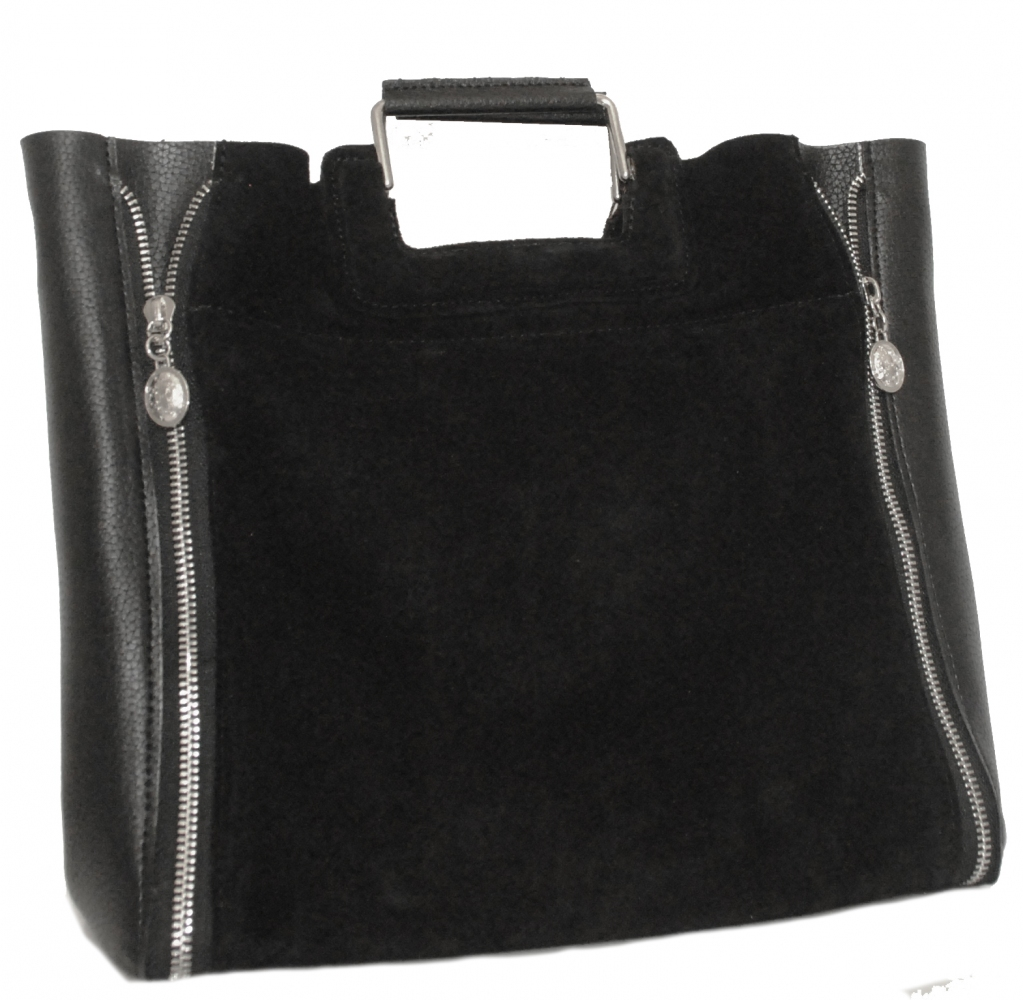 Женская сумка 0637 черная