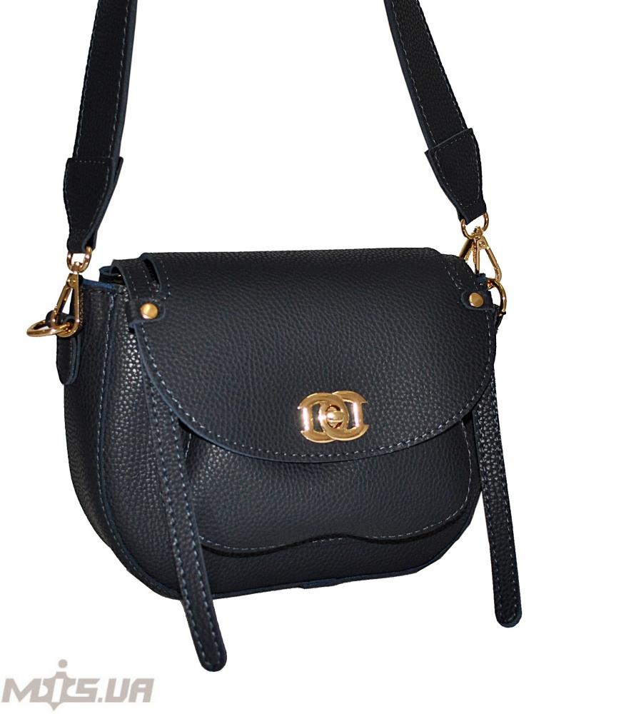 Женская сумка 35569 темно-синяя