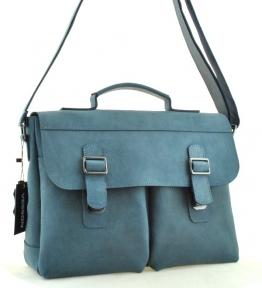 Мужской  портфель 4227 синий
