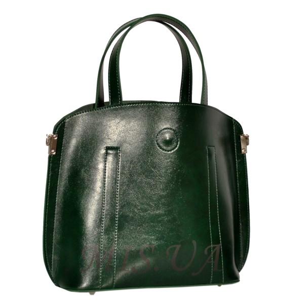 Женская сумка 35634 зеленая