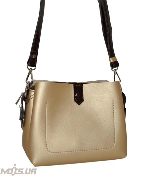 Жіноча сумка 35523 золотиста
