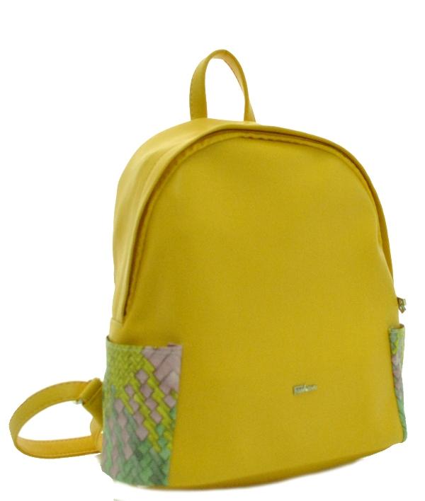Женский рюкзак 35432 желтый