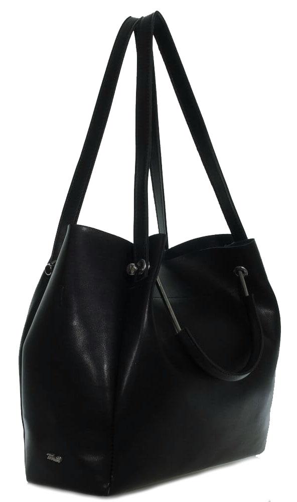 Женская сумка 35433 А черная