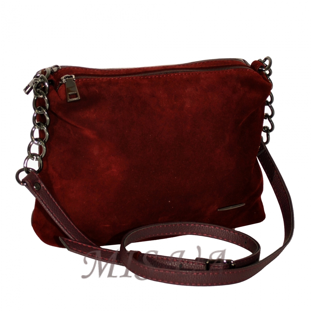 Купити замшеву бордову жіночу сумку 0670 з доставкою по Україні ... 928b2b2ef9968