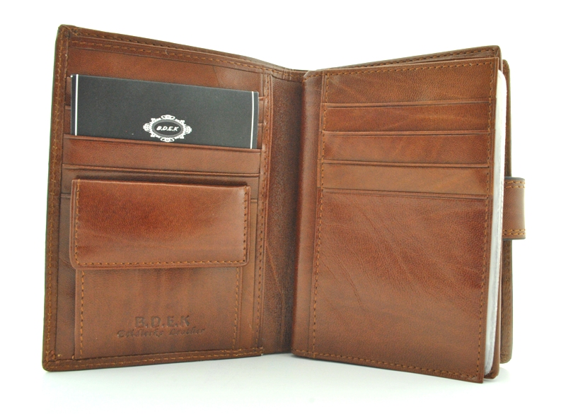 Мужской кошелек 17430 коричневый