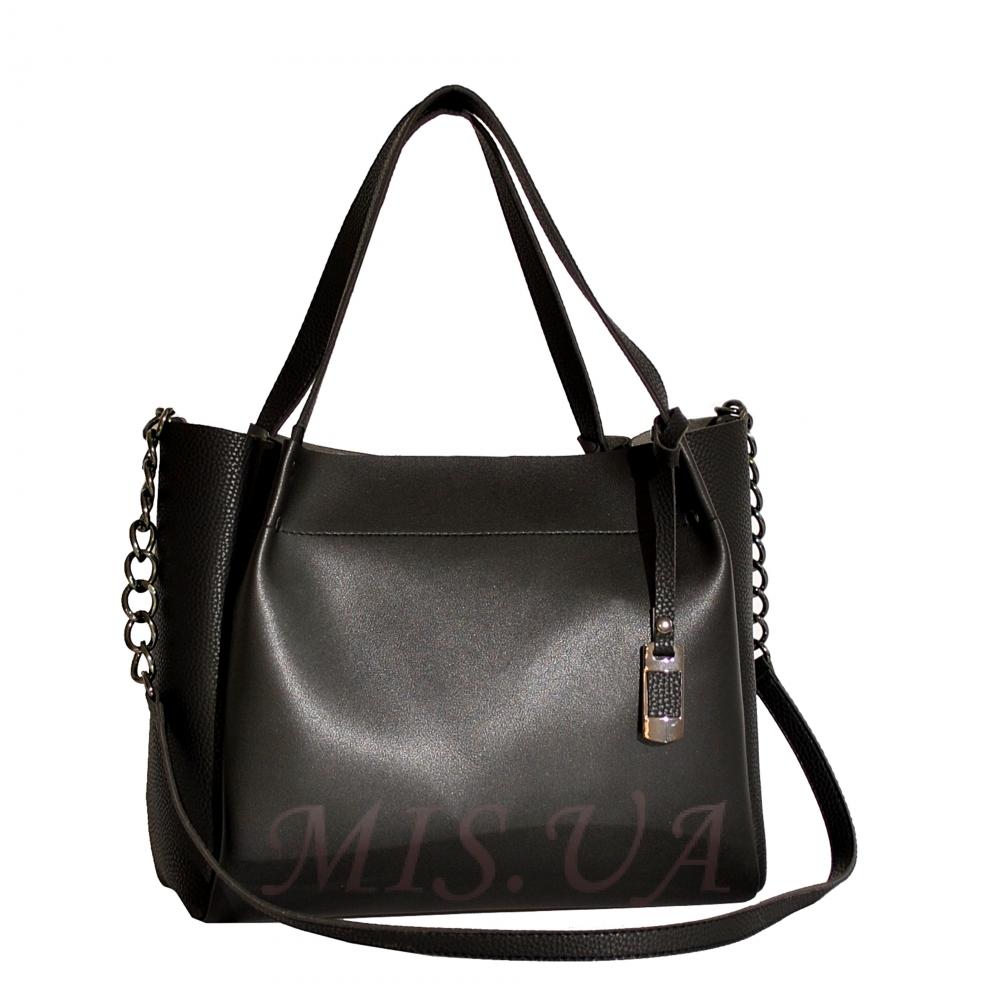 Women's bag 35659 black