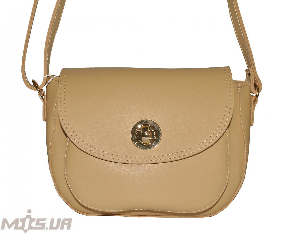 Женская сумка 35585 - с бежевая