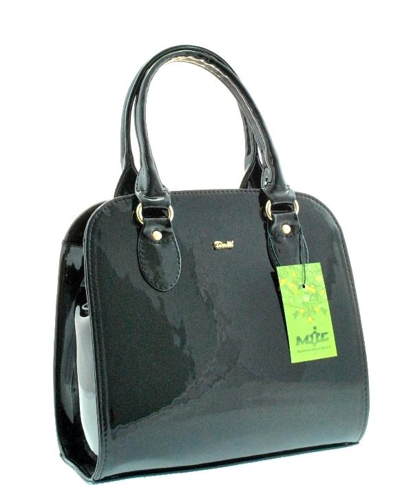 Женская сумка 35364 черная лаковая - Женские сумки - Интернет ... 0a41742aed703