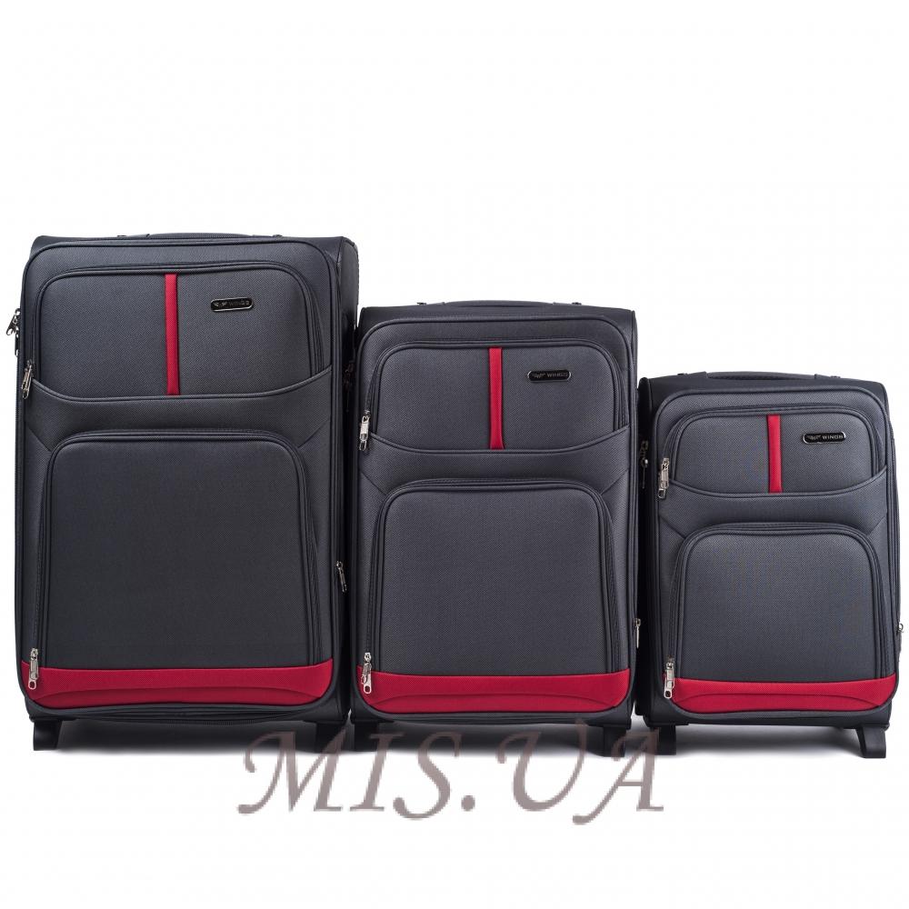 suitcase 389521 gray
