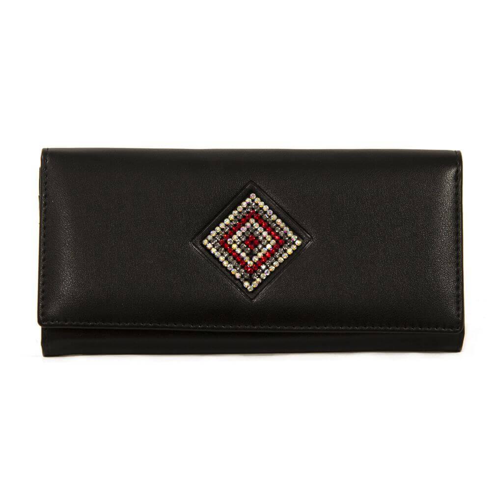 Женский кошелек 174014 черный