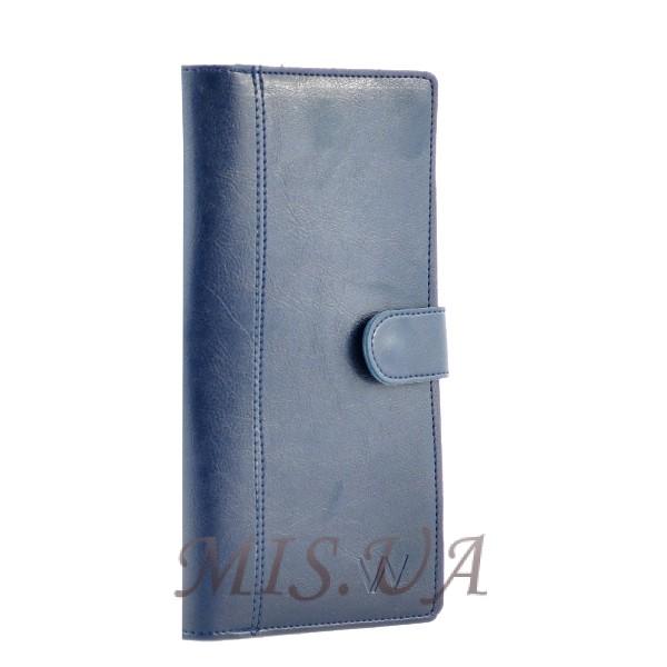 Чоловічий гаманець-портмоне 34295 синій
