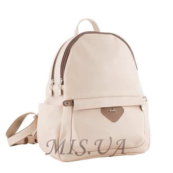 Женский рюкзак МІС 35639 /1 бежевой
