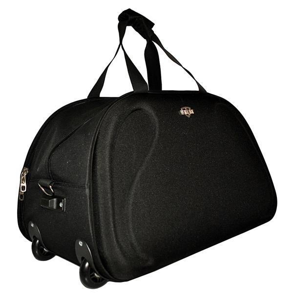 Дорожная сумка на колесах 381470 черная
