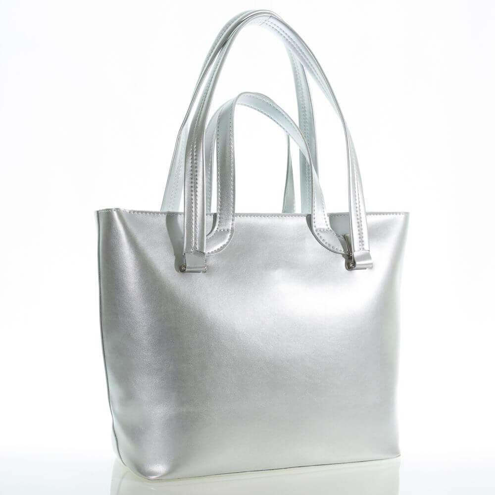 Женская сумка 35450 А серебреная