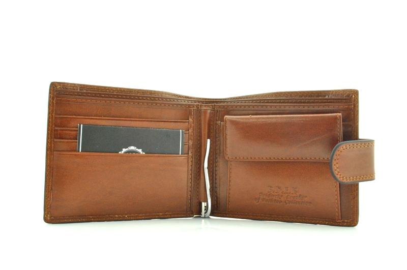 Мужской кошелек 17428 коричневый