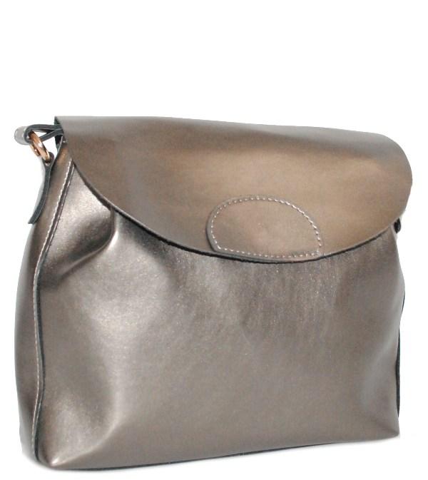 Жіноча сумка 35430 А бронзова