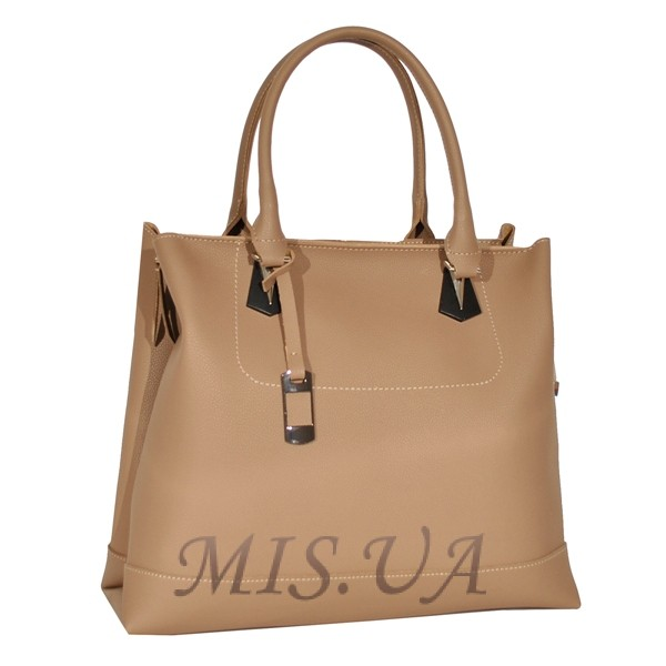Женская сумка 35636 бежевая