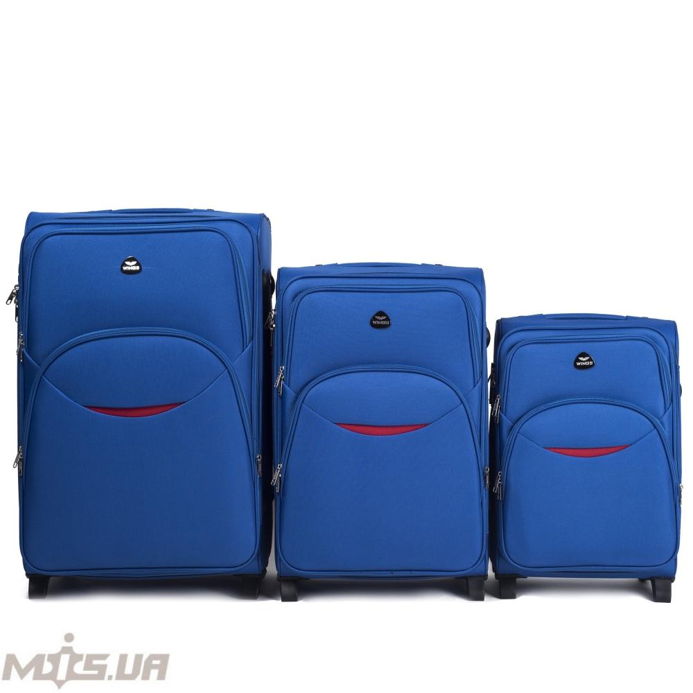 Чемодан 389521 синий