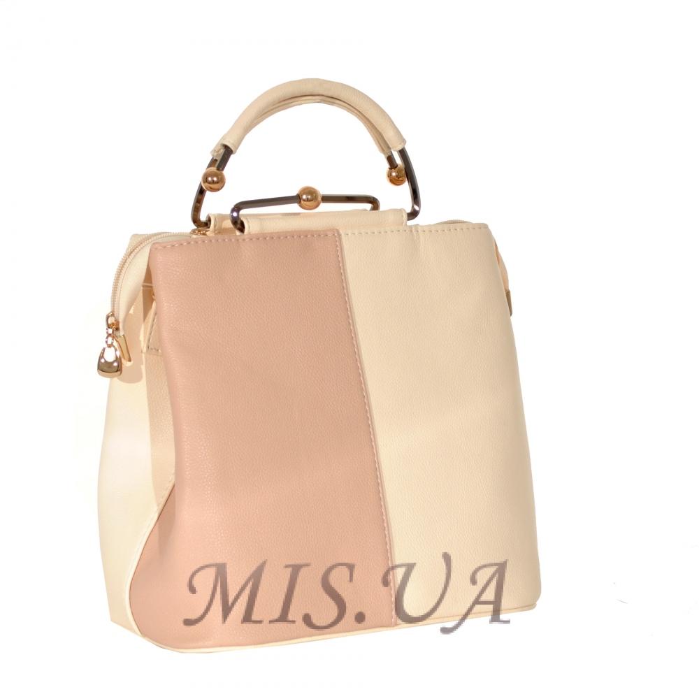 Женская сумка 35596 бежевая